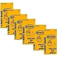 18 ShopVac Type E 3-5 Gallon Wet/Dry Shop Vac Vacuum Bags 9066100
