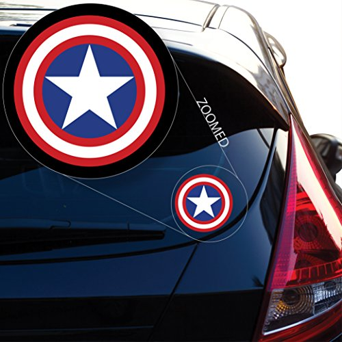 Captain AmericaDecal Sticker for Car Window, Laptop and More. # 558 (4
