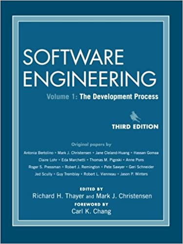 bf44f08dc79 Software Engineering, The Development Process (Volume 1): 9780471684176: Computer  Science Books @ Amazon.com