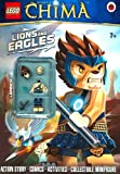 LEGO Legends of Chima: Lions and Eagles Activity Book with Minifigure (Lego Legends of Chima/Minfigur) by Unknown (2013-05-02)