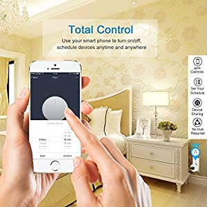 MartinJerry Mini Wifi Smart Plug Works with Alexa, Google Home, Smart Home Devices to control your appliance from anywhere, no Hub Required, Wifi Smart Socket (V06)