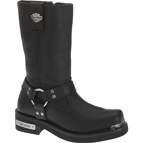 Harley Davidson Hombre Landon Cuero Botas: Amazon.es: Zapatos y complementos