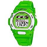Children Boys Student Waterproof Sports Watch LED Digital Date Wristwatch