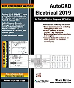 AutoCAD Electrical 2019 for Electrical Control Designers