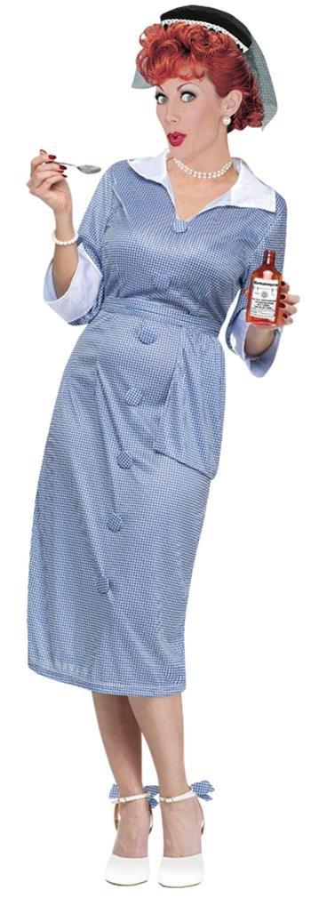 I Love Lucy Costume - Womens Medium/Large 10-14