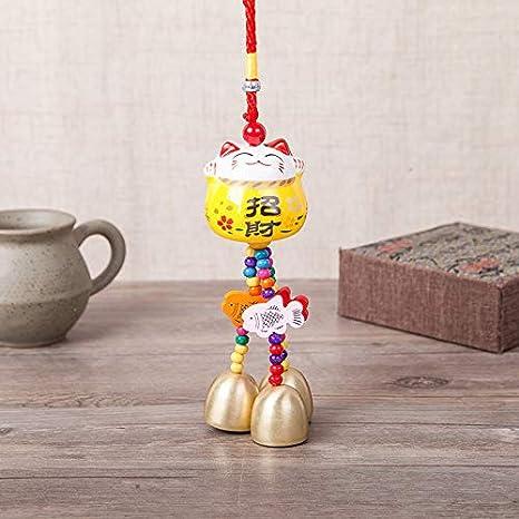 Amazon.com: VT BigHome Llavero de cerámica con diseño de ...