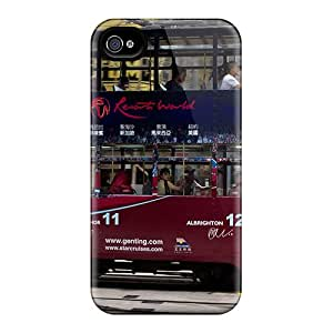 Ultra Slim Fit Hard GDWillis Case Cover Specially Made For Iphone 4/4s- The Beloved Fc Of England Aston Villa