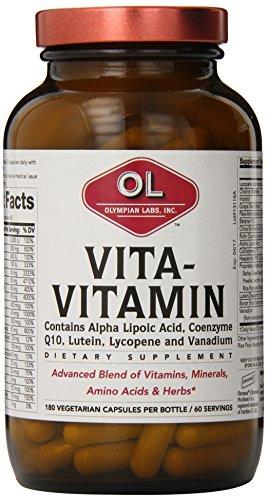 Olympian Labs Vita-Vitamin Multi Vitamin Mineral, 60 Servings