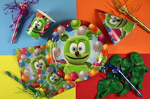 Gummibär The Gummy Bear Birthday Party Supplies Set ()