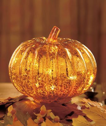 LTD Commodities Antiqued Lighted Pumpkin product image