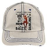 In My Head Hat, I'm Dancing Ballet Trucker Cap (Trucker Cap - Putty)
