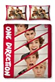 one direction bed set for boys - One Direction 'Boyfriend' Reversible Panel Double Bed Duvet Quilt Cover Set