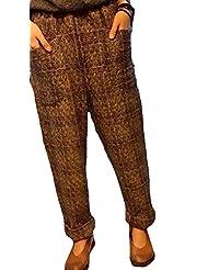 Fashionback Women's Autumn 1 Colors 1 Sizes Long Fashion Pants Gray One Size