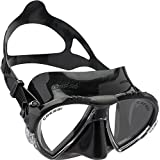 Cressi Matrix 2-Lens Diving Mask (Made in Italy)