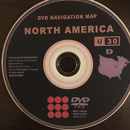 2016 Toyota & Lexus Navigation DVD v.15.1 Generation (Toyota Prius Navigation)