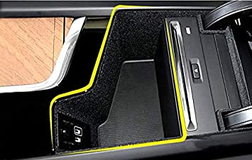 Salusy Car Center Console Armrest Box Glove Box Secondary Storage Tray fit Volvo S90 XC60 2018//XC90 2015-2018