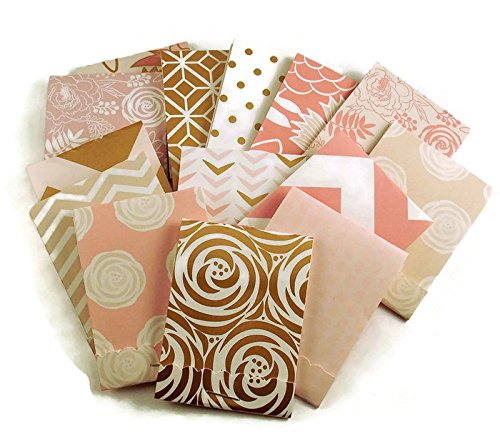 30 Matchbook Notepads Party Favors in Blush Glam