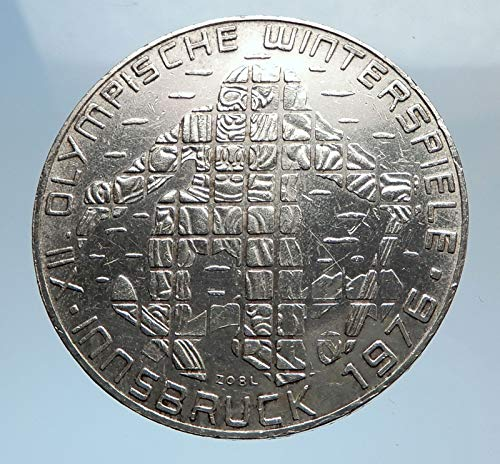 1976 AT 1976 Innsbruck WINTER Olympic Games AUSTRIA - SIL coin Good Uncertified
