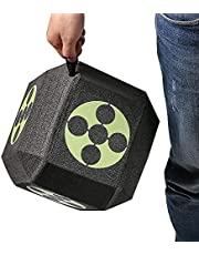 18 Sides 3D Archery Target Self Healing XPE Foam Target Dice Cube for Arrows