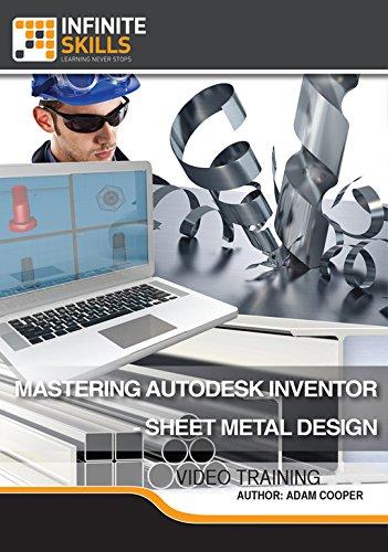 Autodesk Inventor - Sheet Metal Design [Online Code] by Infiniteskills