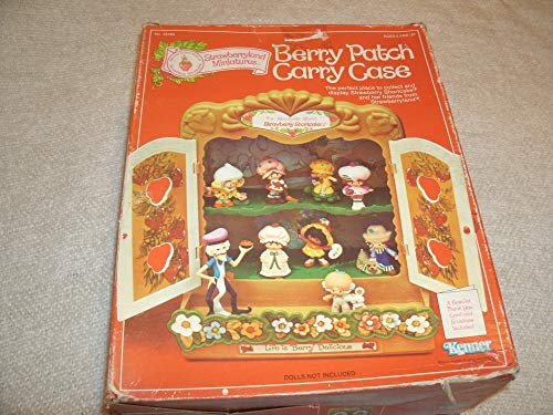 Kenner Vintage 1981 Strawberry Shortcake Strawberryland Miniatures Berry Patch Display Case ()