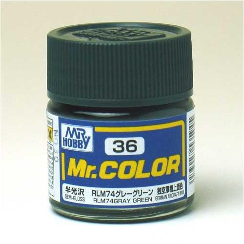 Mr.カラー C36 RLM74グレーグリーン