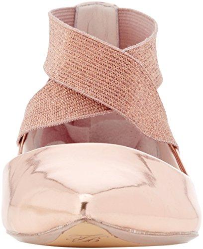 Rosa Para Cencae Baker Bailarinas Ted Mujer Gold rose OUwSXqx61n