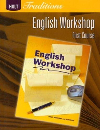 Holt Traditions Warriner's Handbook: English Workshop Workbook Grade 7 First Course ()