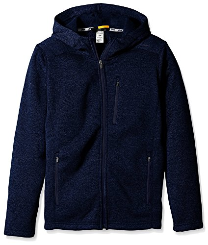 - Penn Men's Cross Country Full Zip, Navy Heather M