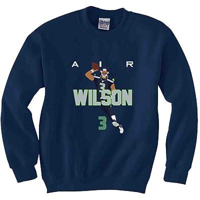 "The Silo NAVY Seattle Wilson ""AIR PIC"" CREWNECK Sweatshirt"