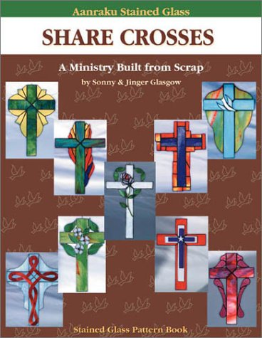 Aanraku Stained Glass Pattern Book Share Crosses Vol. 1.
