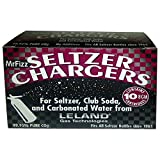 100 Leland (LE10 CO2) CO2 Soda Chargers - 8 Gram C02 Seltzer Water Cartridges