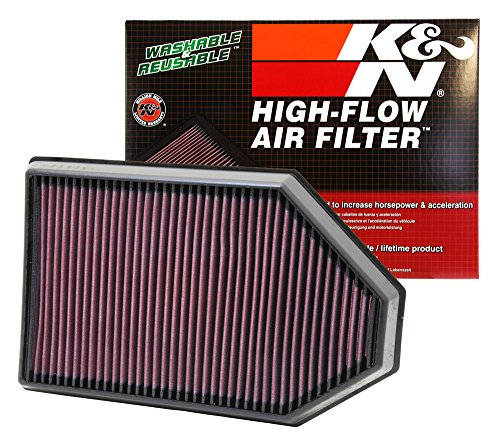 K&N 33-2460 High Performance Replacement Air Filter