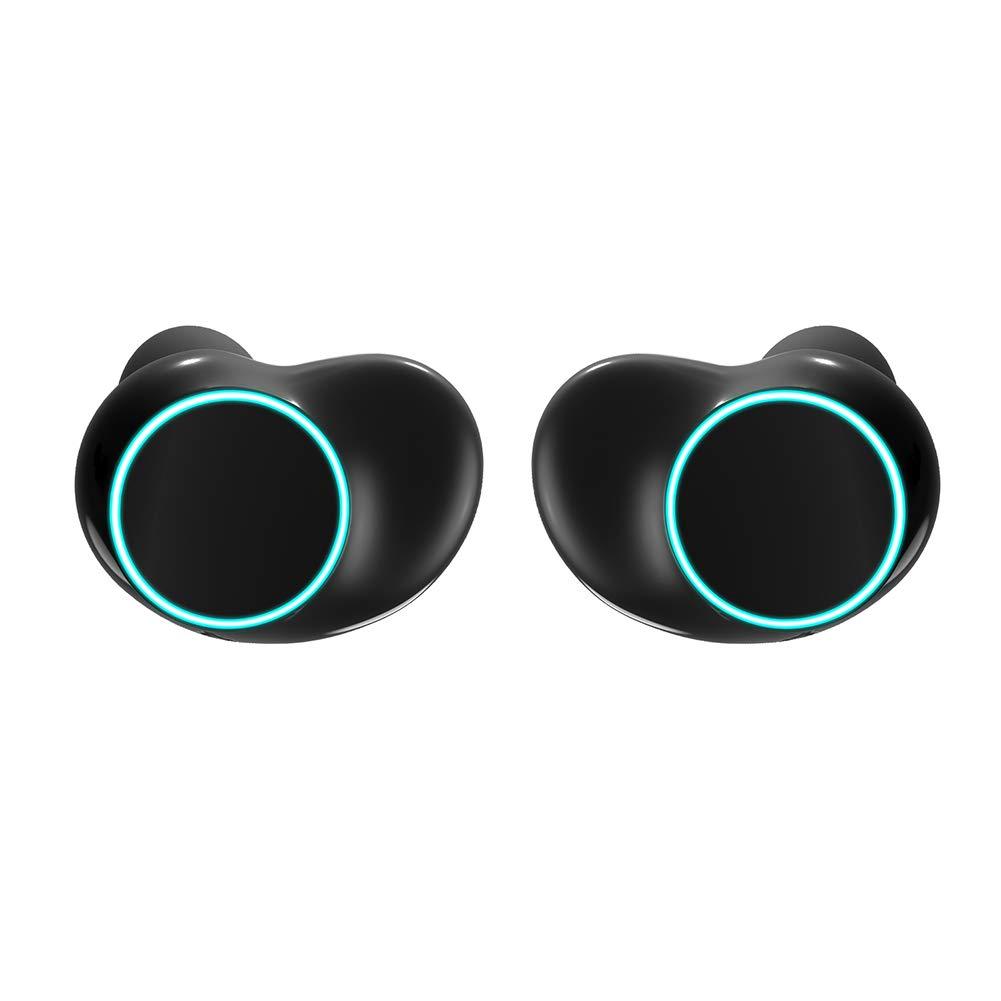 dulawei3 ONIKUMA T3 TWS ワイヤレス Bluetooth 5.0 イヤホン 防水イヤホン ノイズキャンセリング Heaphones スポーツ 音楽 ランニング ヨガ ジム ジョギング ハイキング サイクリング ヘッドセット マイク付き, Z298G08A57G70SB4SMVUU3PHTQV6K B07PVG8NRG マルチ