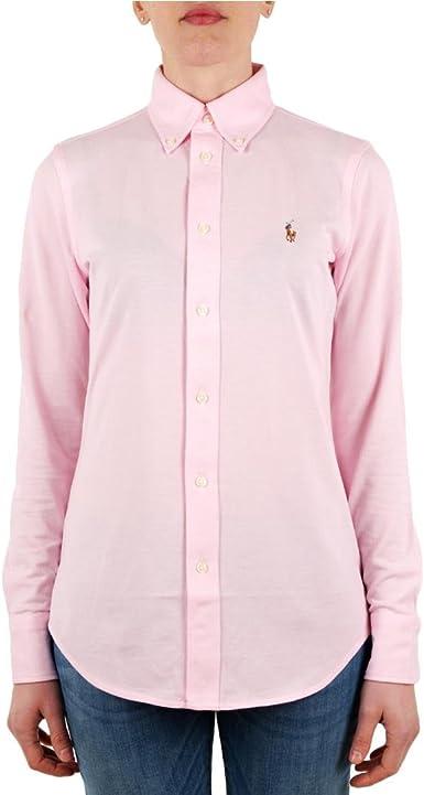 Ralph Lauren - Polo Heidi - Camiseta Manga Larga - Carmel Pink ...