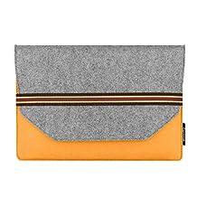 YIYINOE Branf Wool Felt Ultra-thin Laptop Sleeve Case For Apple macbook Air Pro Retina 13 13.3 inch laptop bag For Mac book 13.3 inch Liner Sleeve Bag for women men Yellow