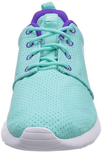 Nike  Roshe Run - Zapatillas de running para Hombre Türkis (Weiß/Hyper Grape-Hyper Turquiose 353)