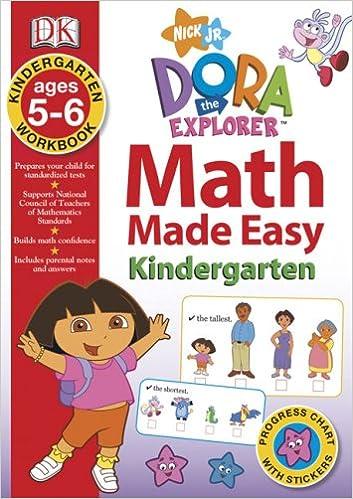 Buy Dora The Explorer Kindergarten Workbook Math Made Easy Book