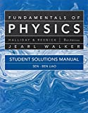 img - for Student Solutions Manual for Fundamentals of Physics book / textbook / text book