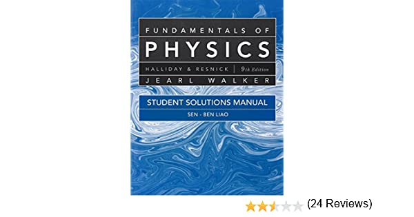 Amazon student solutions manual for fundamentals of physics amazon student solutions manual for fundamentals of physics 9780470551813 david halliday robert resnick jearl walker j richard christman books fandeluxe Image collections