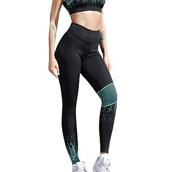 Pantalones Yoga Mujeres, CICIYONER Las Mujeres de Cintura ...
