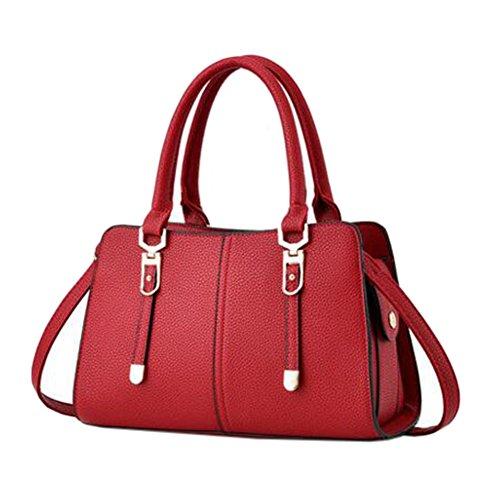 Elegante PU-lederne Handtaschen-Schulter-Beutel-haltbare Dame-Beutel-Geldbeutel-Einkaufstasche NO.12