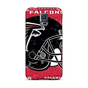 Shock-Absorbing Hard Cell-phone Cases For Samsung Galaxy S5 (FzA7629KjuN) Provide Private Custom Beautiful Atlanta Falcons Pictures