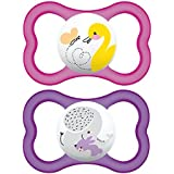 MAM Sensitive Skin Pacifiers, Baby Pacifier 6+ Months...