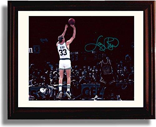 Framed Larry Bird - Boston Celtics