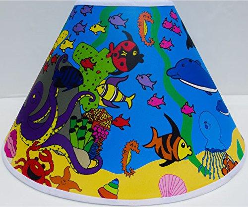 Under Sea Lamp Shades / Under the Sea Themed Lamp Shade