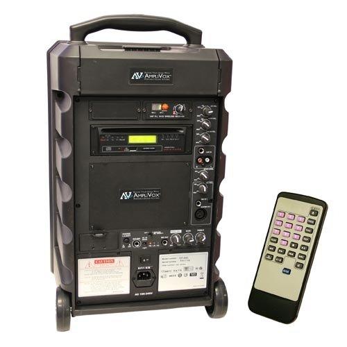 Amplivox Sw800 Titan Public Address System - 100 W Amplifier - 8 Speaker