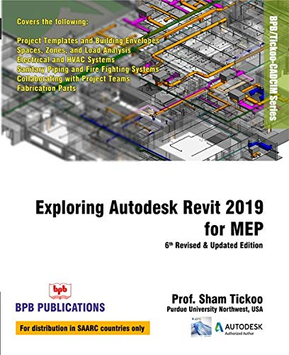 EXPLORING REVIT 2019 FOR MEP: BPB: 9789388176354: Amazon com