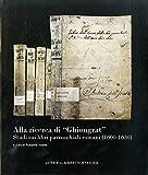 Alla ricerca di Ghiongrat Studi sui libri parrocchiali romani (1600-1630) (Collana Di Studi E Richerche) (Italian Edition)