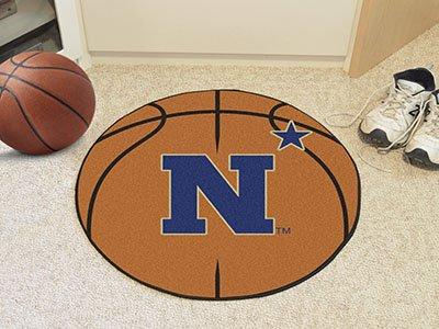 - Fan Mats US Naval Academy Basketball Mat ORANGE/BLUE/BLACK 27 DIAMETER
